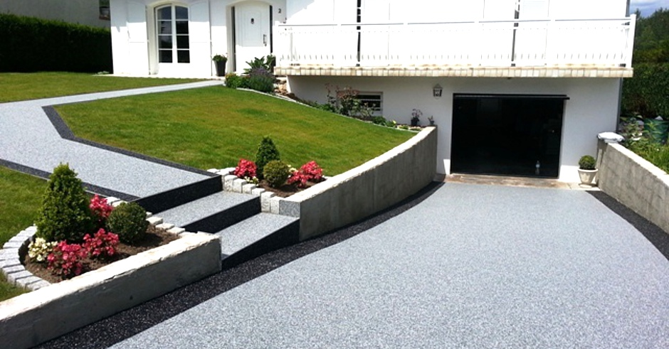 Carreaux design sarl 57 moselle carrelage flexmabre beton for Garage exterieur design
